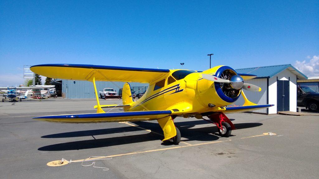 Ferry Flight (Beech Staggerwing) Anchorage - Denver